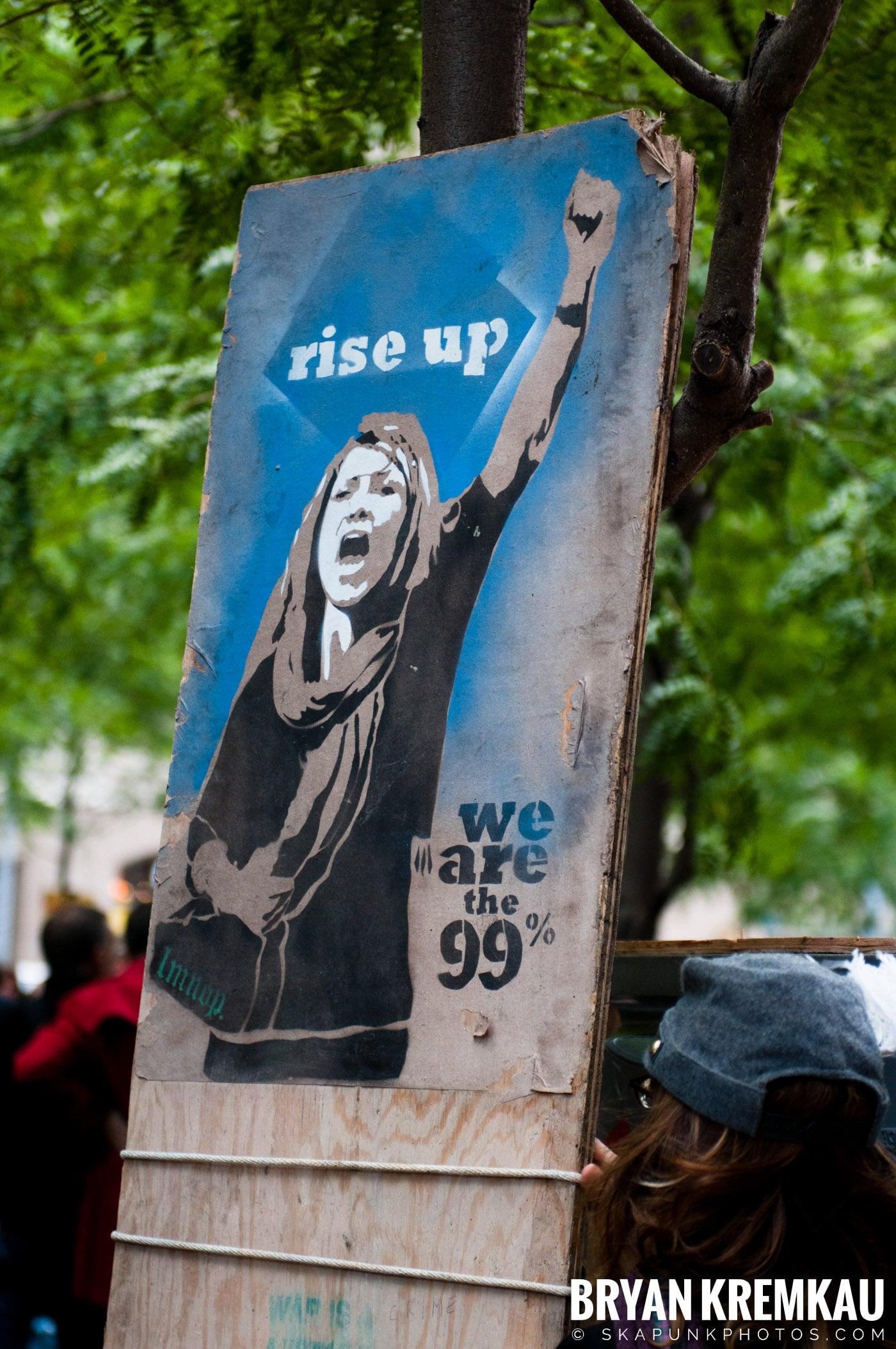 Occupy Wall Street @ Zuccotti Park and Washington Square Park, NYC - 10.15.11 (115)