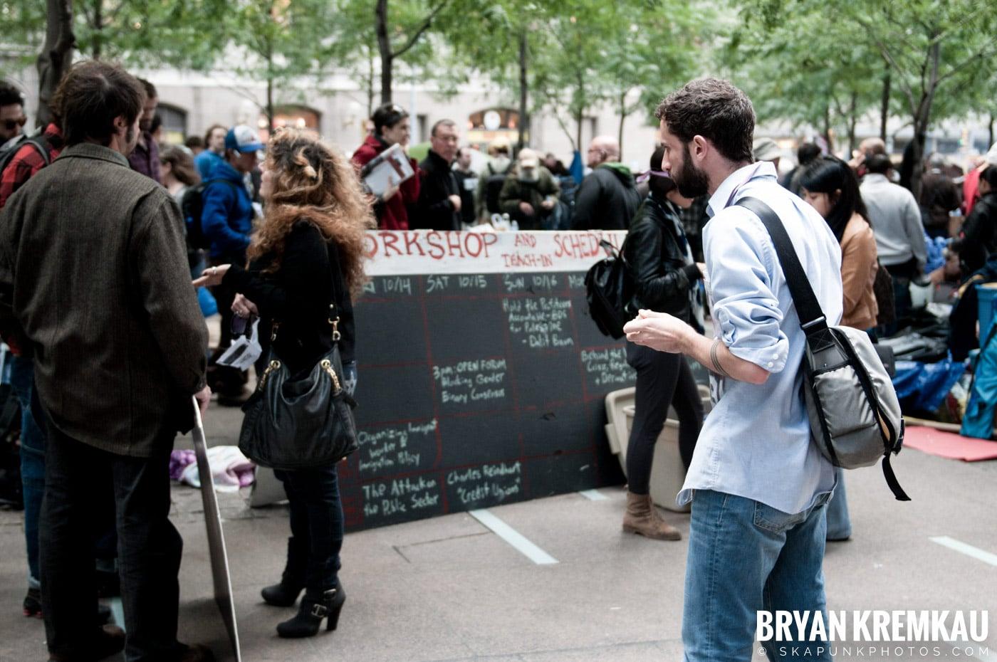 Occupy Wall Street @ Zuccotti Park and Washington Square Park, NYC - 10.15.11 (114)