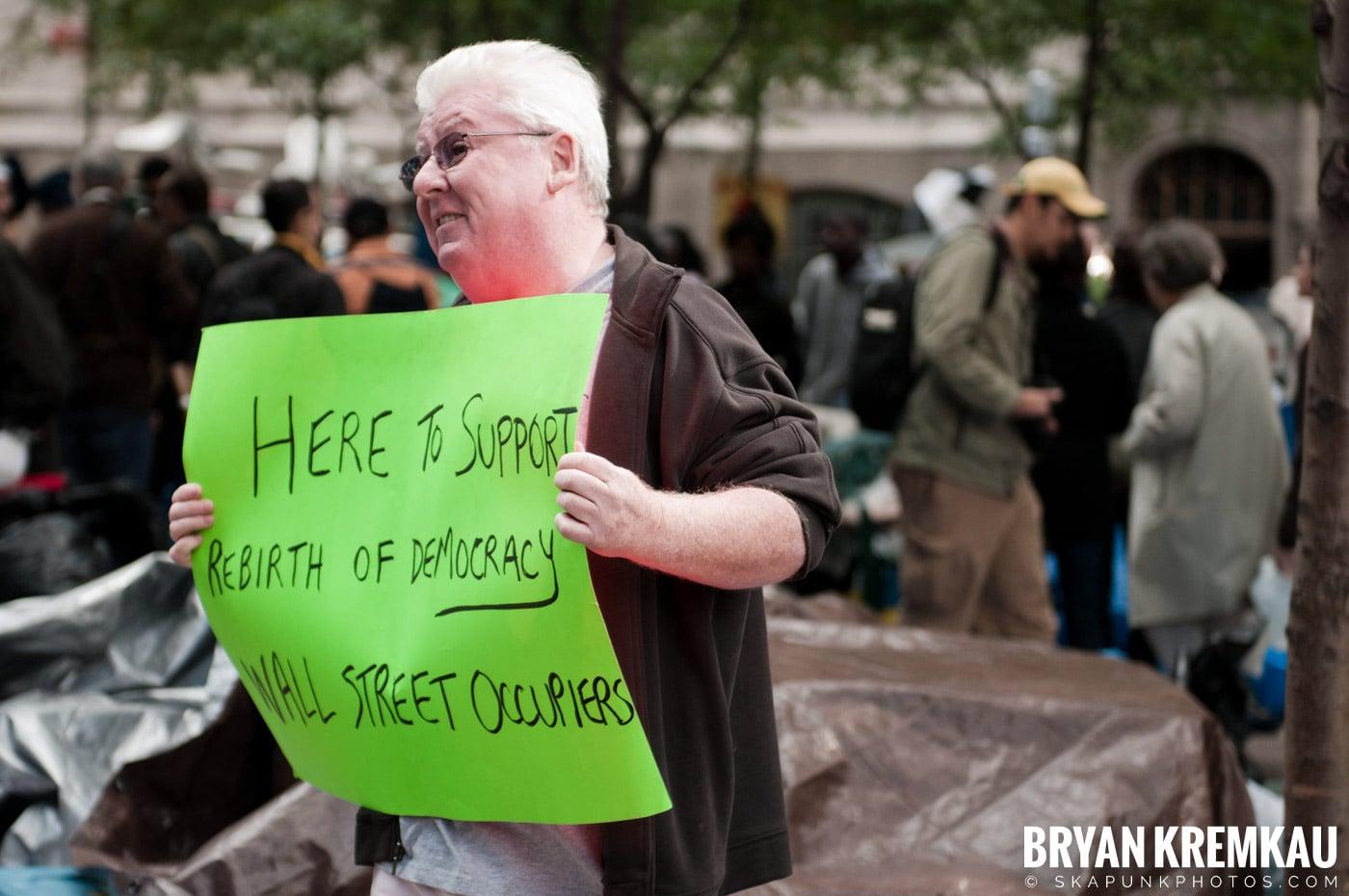 Occupy Wall Street @ Zuccotti Park and Washington Square Park, NYC - 10.15.11 (113)