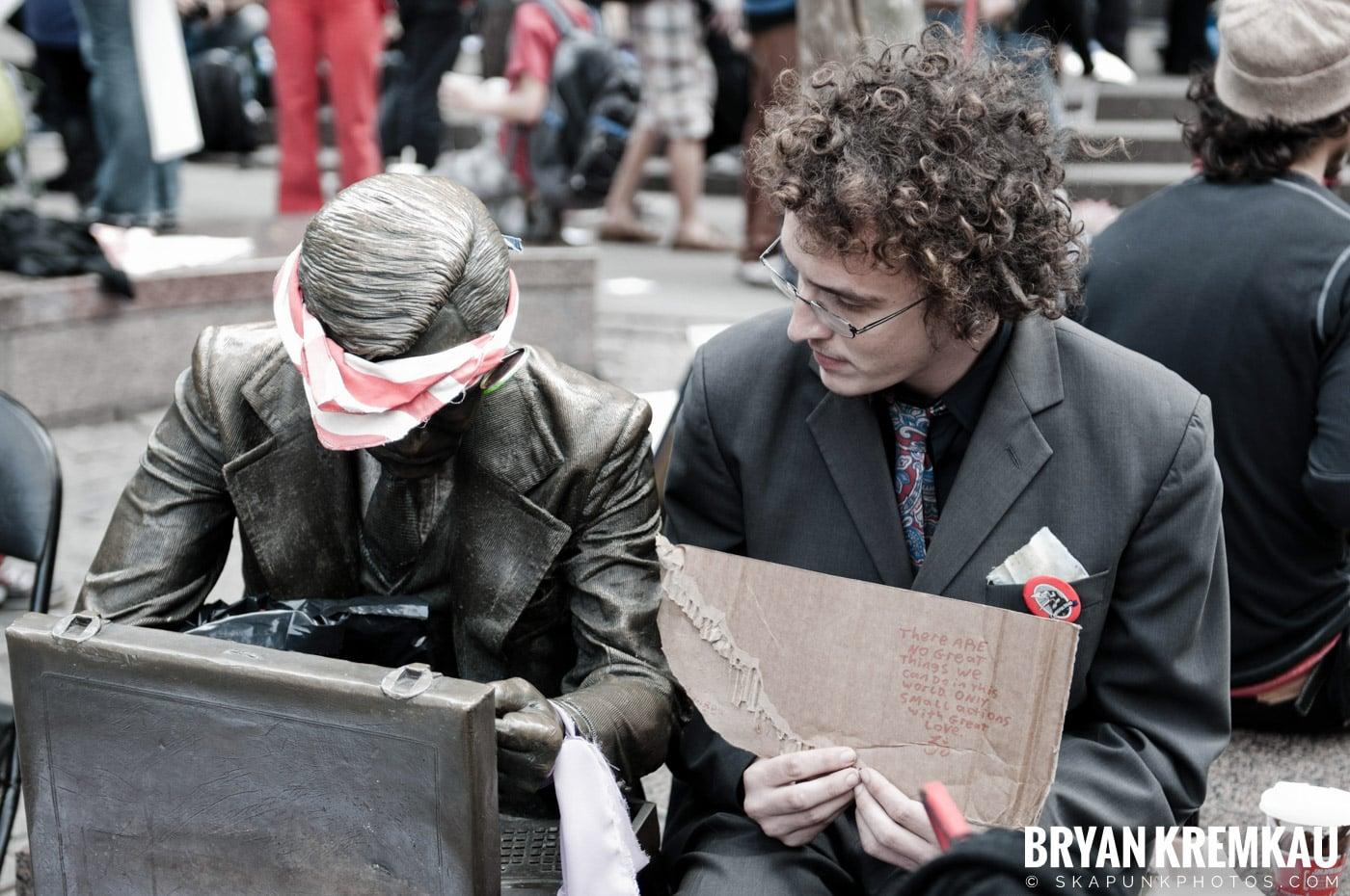 Occupy Wall Street @ Zuccotti Park and Washington Square Park, NYC - 10.15.11 (112)