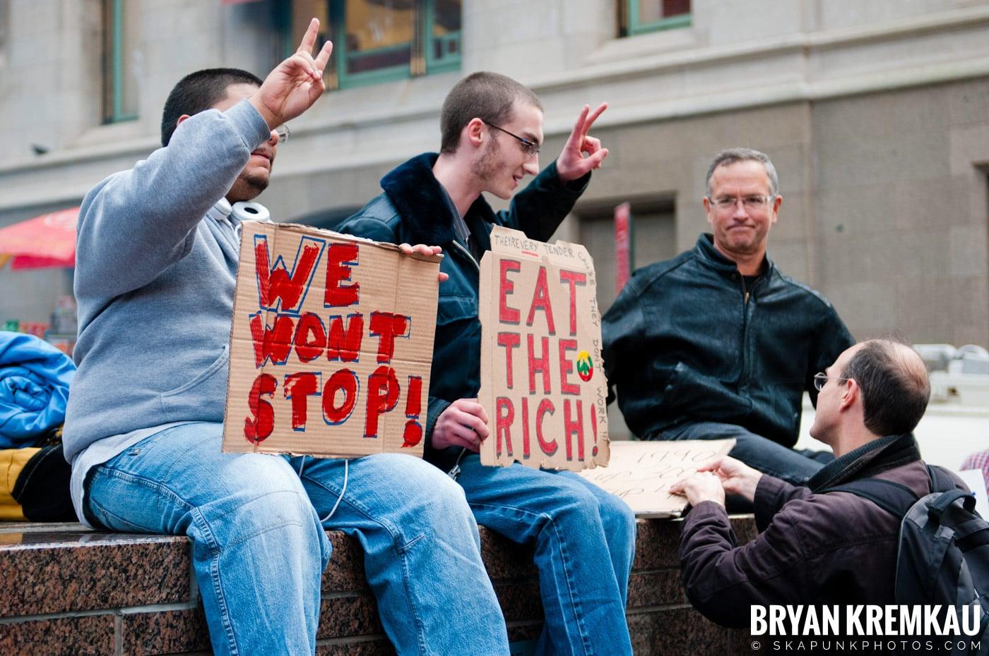 Occupy Wall Street @ Zuccotti Park and Washington Square Park, NYC - 10.15.11 (111)