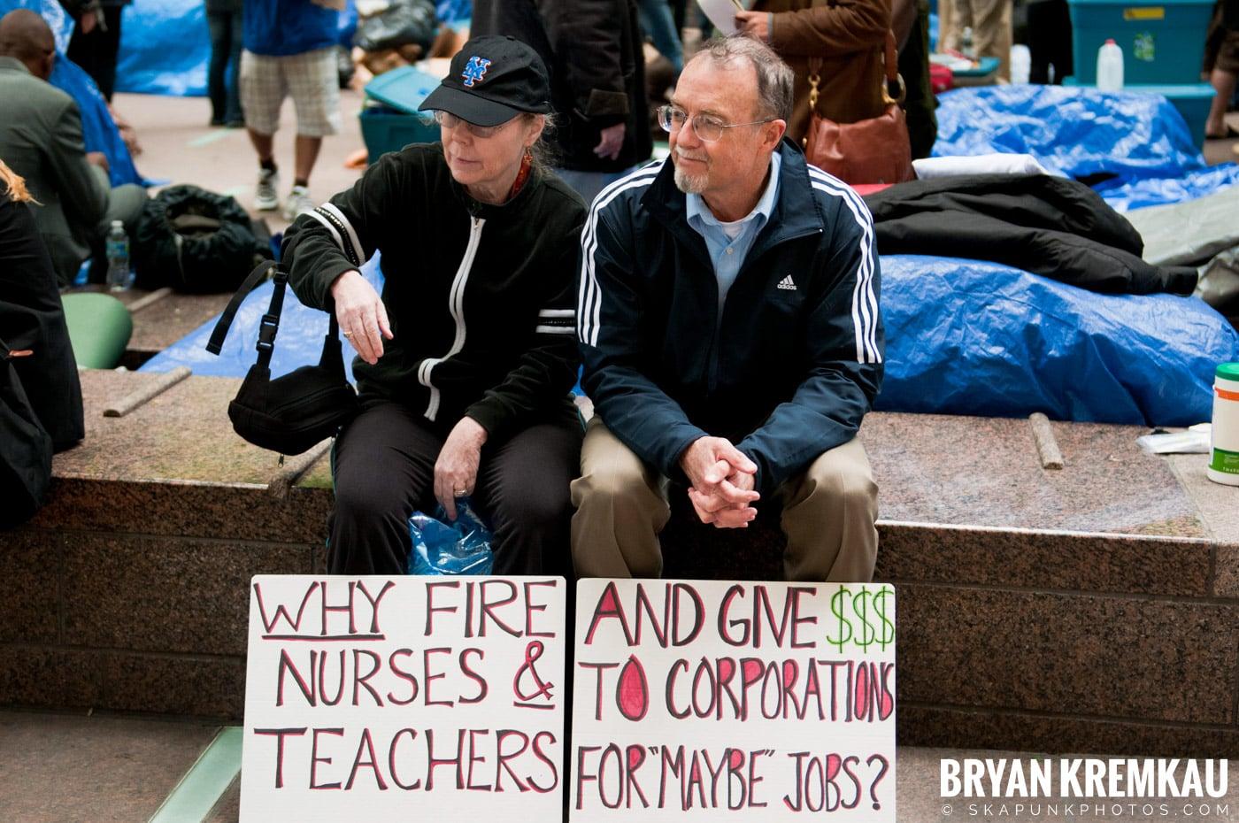 Occupy Wall Street @ Zuccotti Park and Washington Square Park, NYC - 10.15.11 (110)