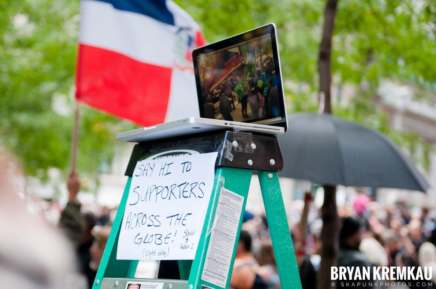 Occupy Wall Street @ Zuccotti Park and Washington Square Park, NYC - 10.15.11 (109)