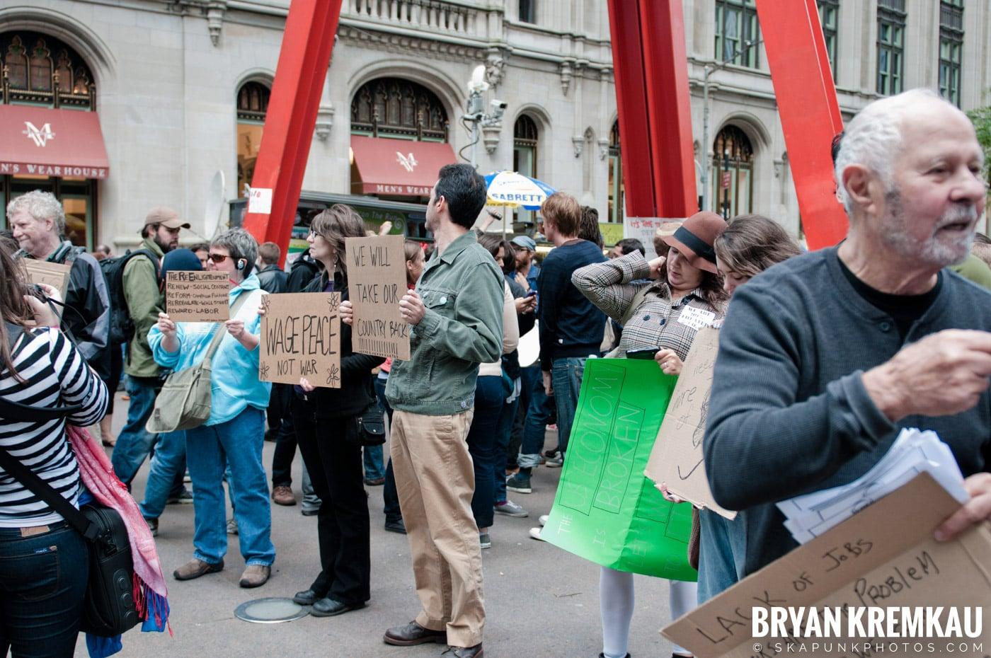 Occupy Wall Street @ Zuccotti Park and Washington Square Park, NYC - 10.15.11 (108)