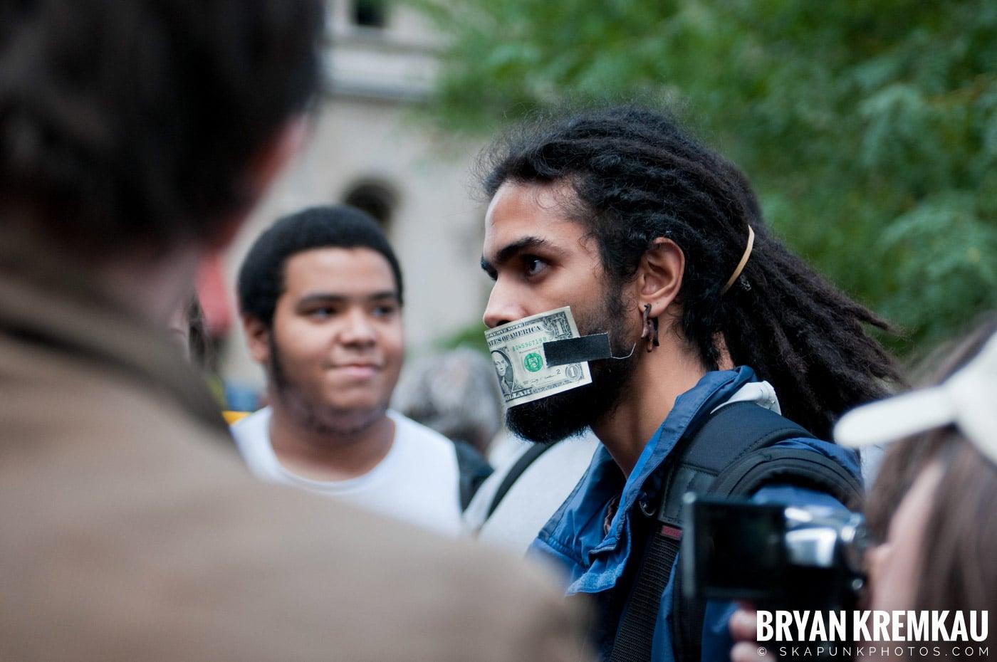 Occupy Wall Street @ Zuccotti Park and Washington Square Park, NYC - 10.15.11 (107)