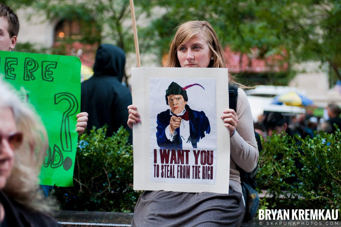 Occupy Wall Street @ Zuccotti Park and Washington Square Park, NYC - 10.15.11 (106)