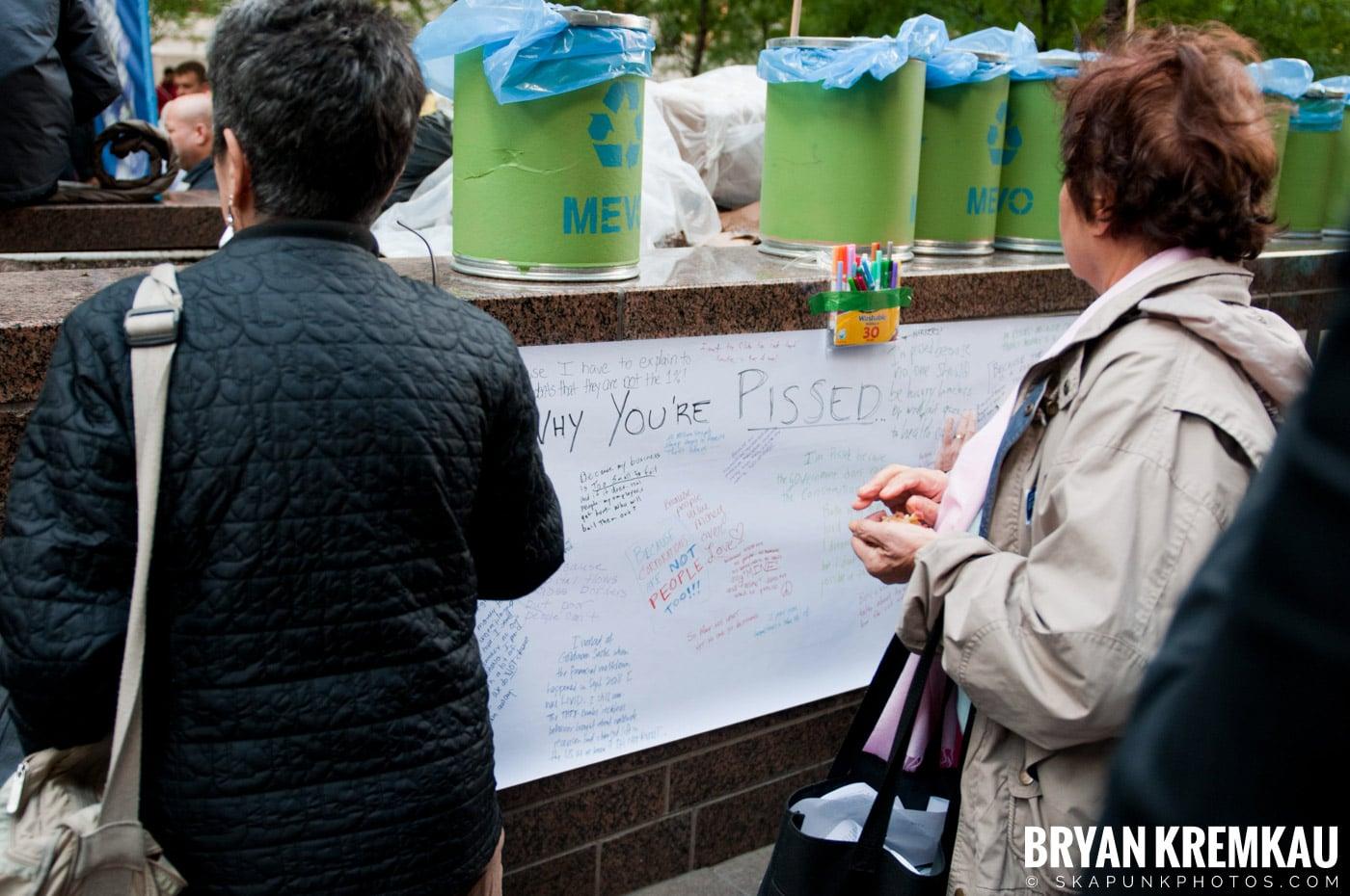 Occupy Wall Street @ Zuccotti Park and Washington Square Park, NYC - 10.15.11 (105)