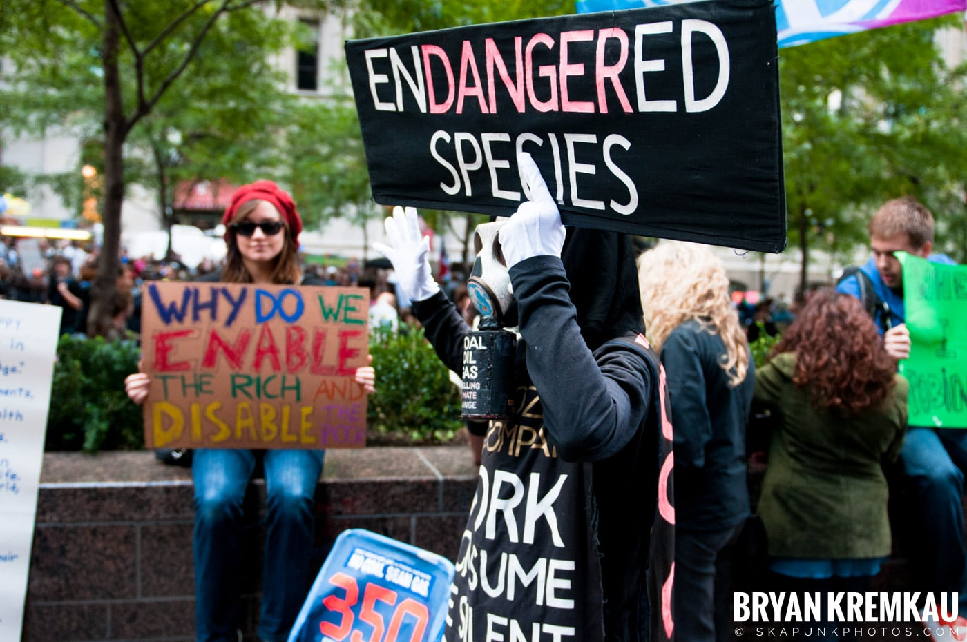 Occupy Wall Street @ Zuccotti Park and Washington Square Park, NYC - 10.15.11 (104)