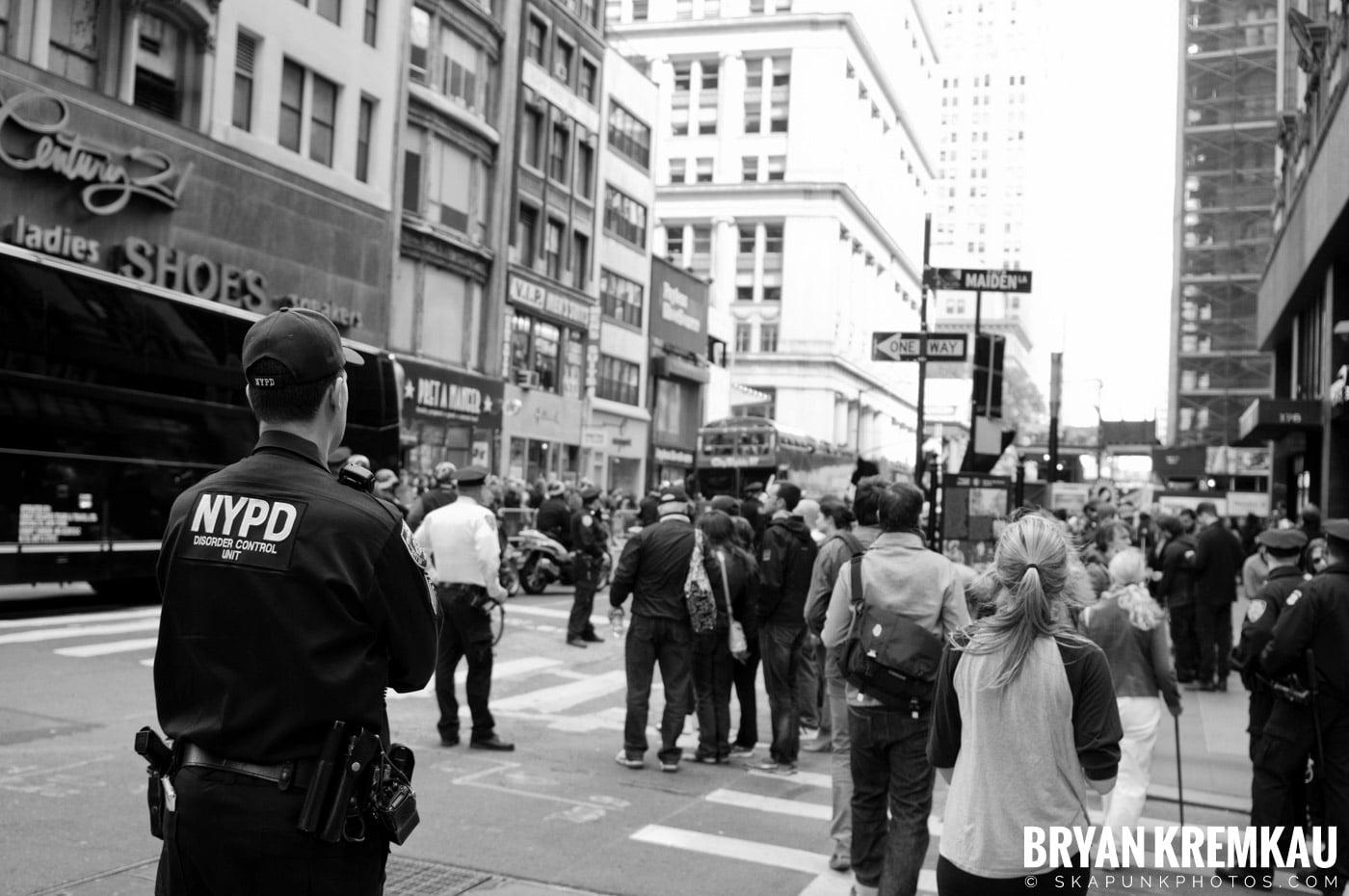 Occupy Wall Street @ Zuccotti Park and Washington Square Park, NYC - 10.15.11 (95)