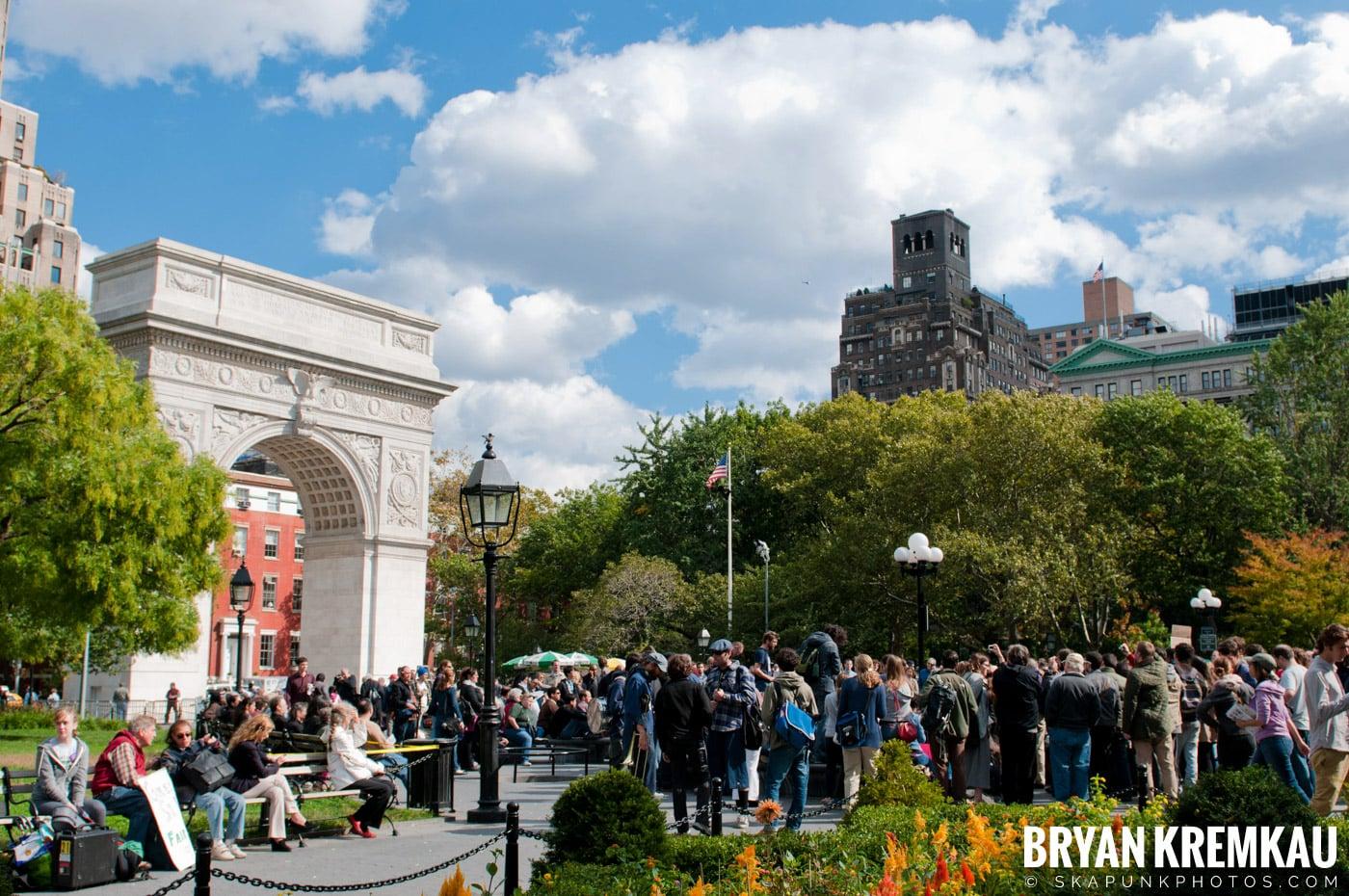 Occupy Wall Street @ Zuccotti Park and Washington Square Park, NYC - 10.15.11 (92)