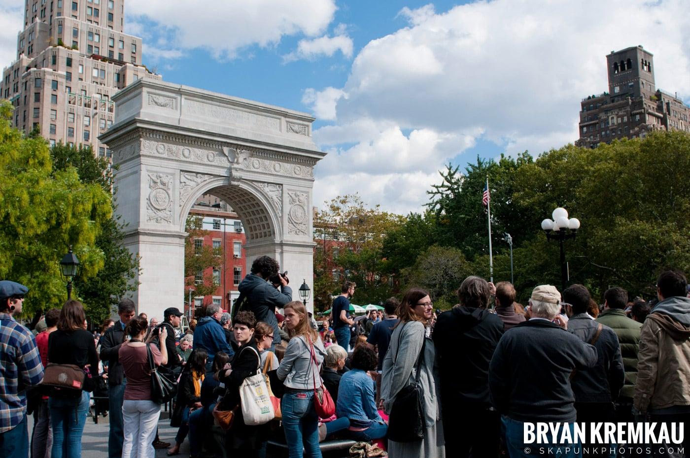 Occupy Wall Street @ Zuccotti Park and Washington Square Park, NYC - 10.15.11 (90)