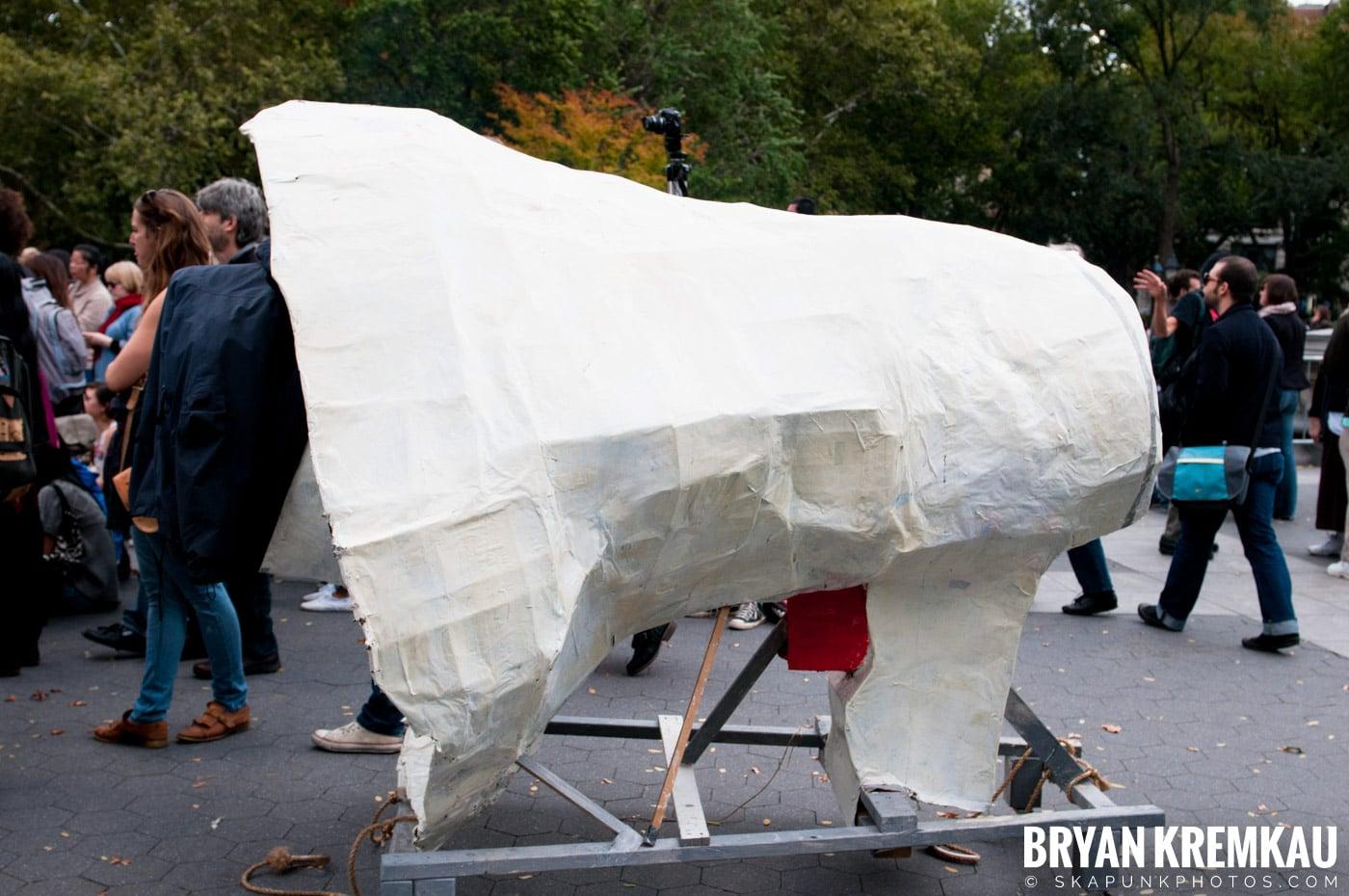 Occupy Wall Street @ Zuccotti Park and Washington Square Park, NYC - 10.15.11 (89)