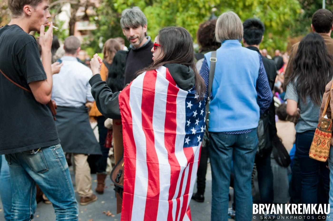 Occupy Wall Street @ Zuccotti Park and Washington Square Park, NYC - 10.15.11 (88)