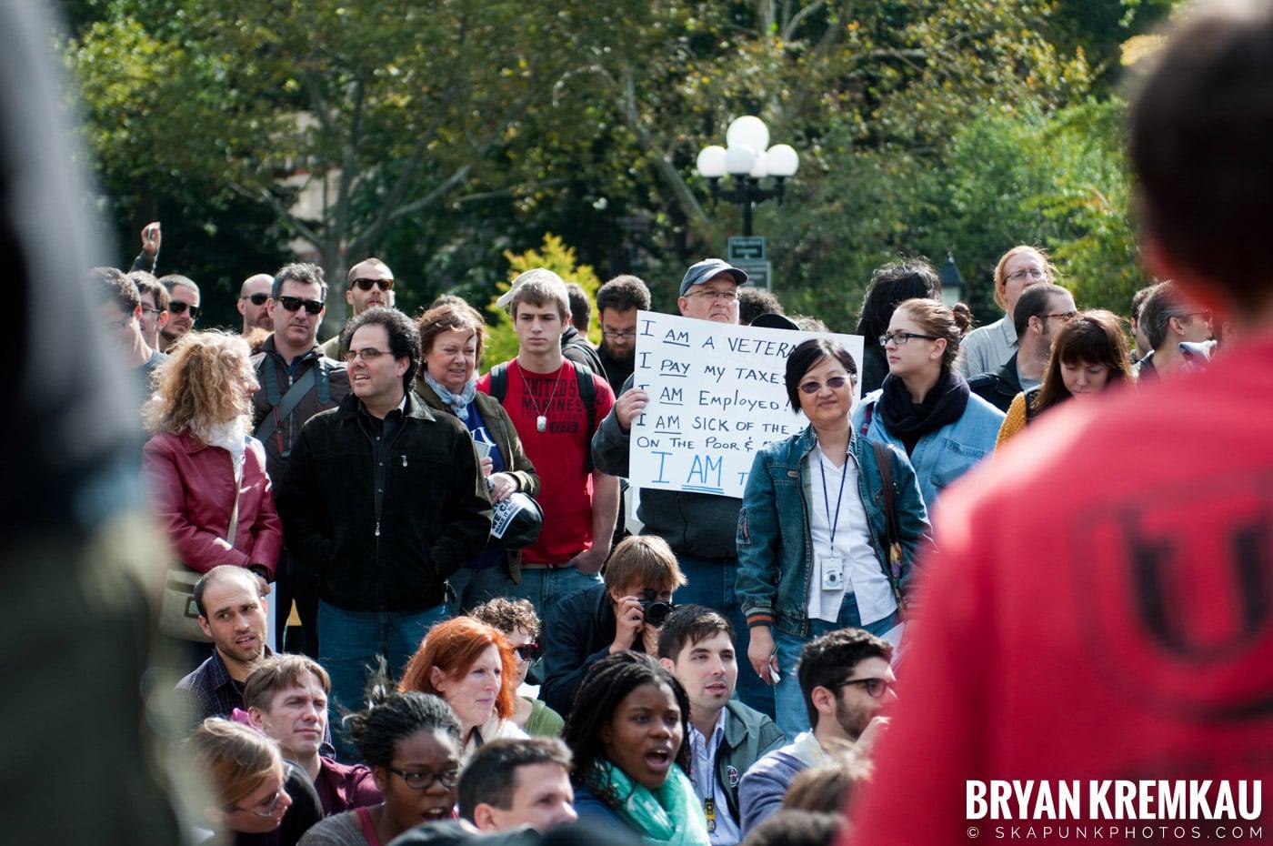 Occupy Wall Street @ Zuccotti Park and Washington Square Park, NYC - 10.15.11 (87)