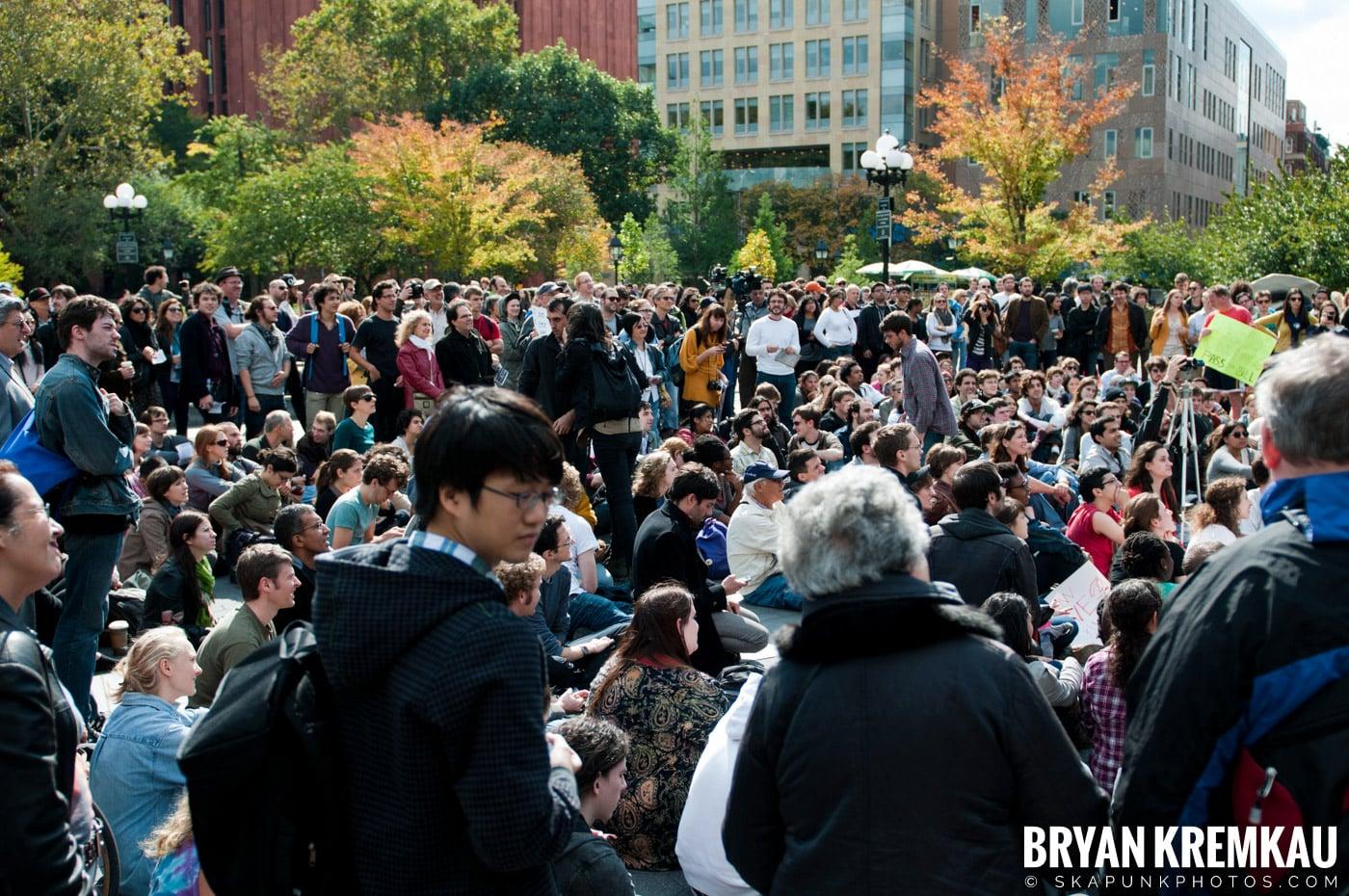 Occupy Wall Street @ Zuccotti Park and Washington Square Park, NYC - 10.15.11 (86)