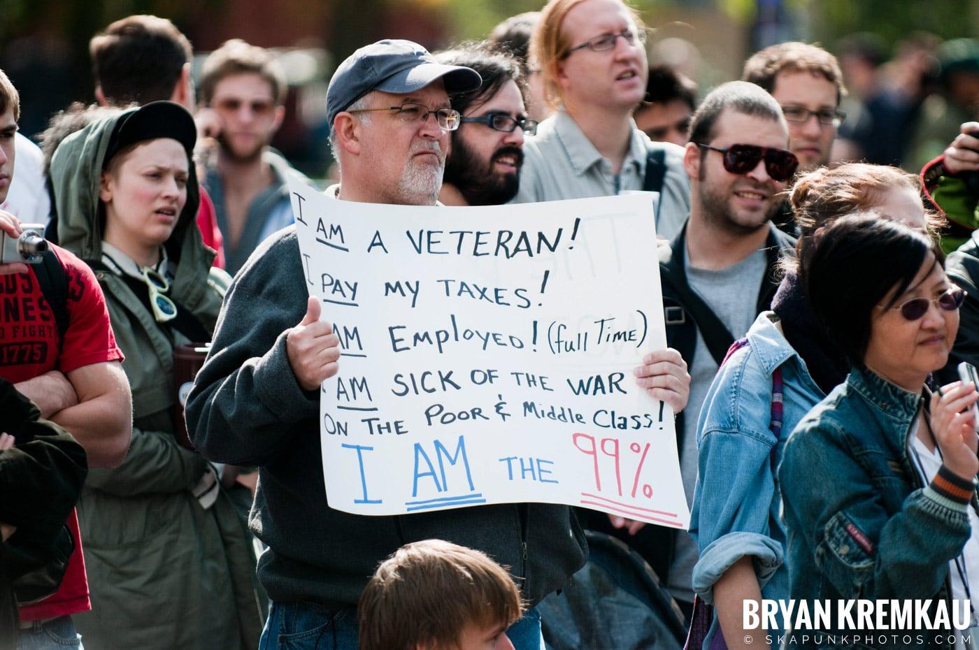 Occupy Wall Street @ Zuccotti Park and Washington Square Park, NYC - 10.15.11 (85)