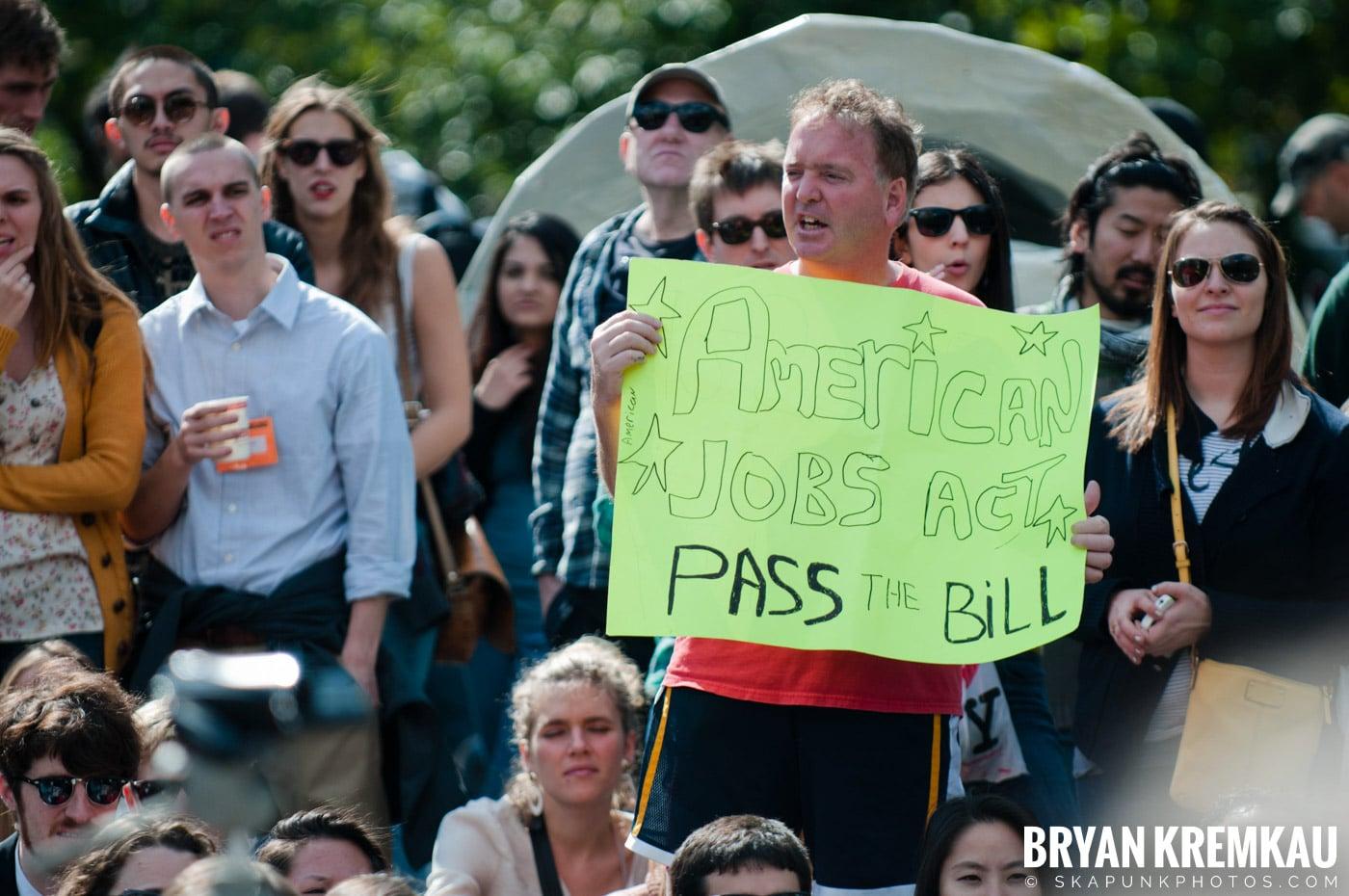 Occupy Wall Street @ Zuccotti Park and Washington Square Park, NYC - 10.15.11 (84)