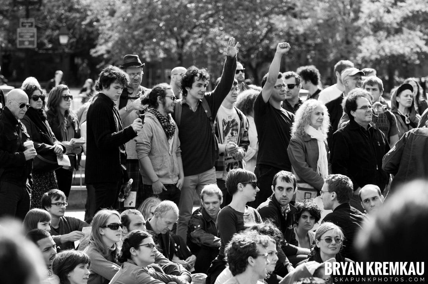 Occupy Wall Street @ Zuccotti Park and Washington Square Park, NYC - 10.15.11 (83)