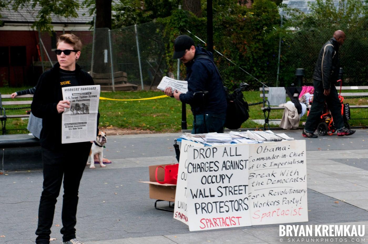 Occupy Wall Street @ Zuccotti Park and Washington Square Park, NYC - 10.15.11 (78)