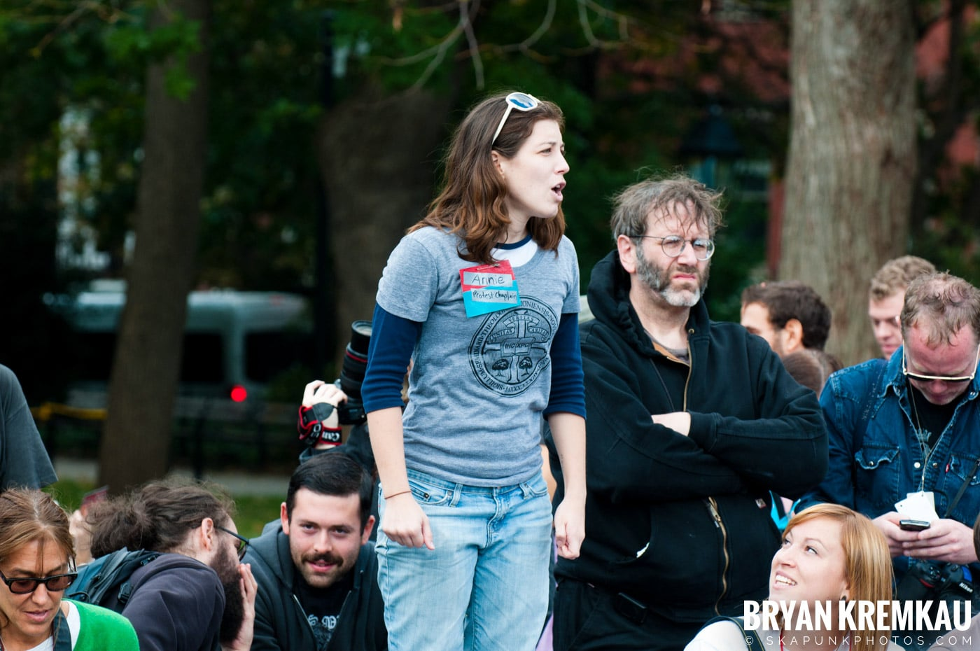 Occupy Wall Street @ Zuccotti Park and Washington Square Park, NYC - 10.15.11 (77)