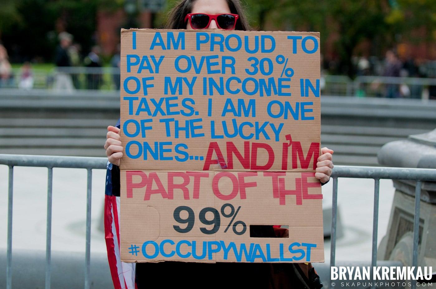 Occupy Wall Street @ Zuccotti Park and Washington Square Park, NYC - 10.15.11 (72)