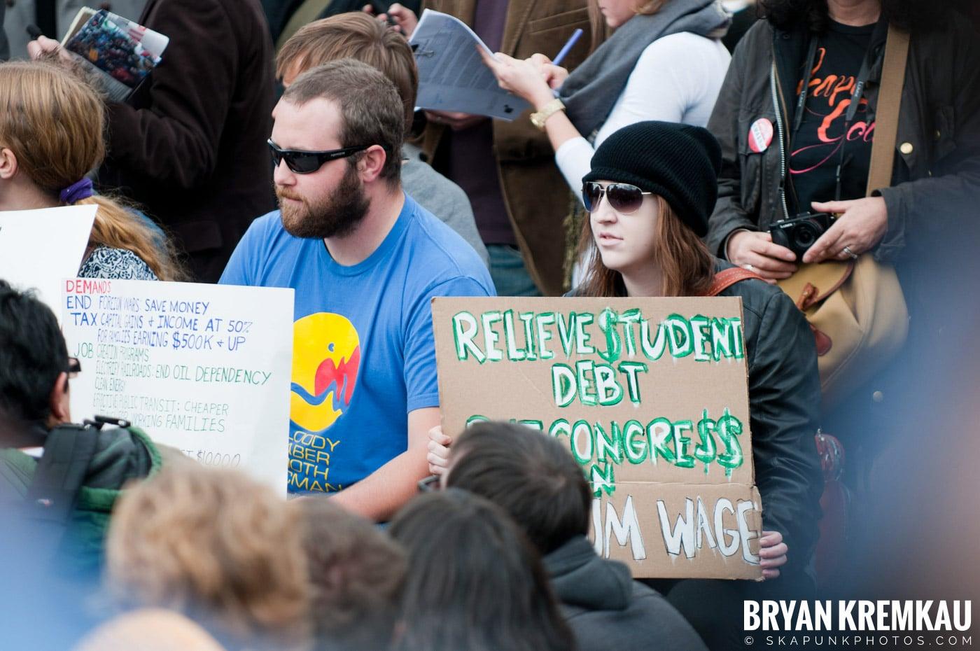 Occupy Wall Street @ Zuccotti Park and Washington Square Park, NYC - 10.15.11 (71)
