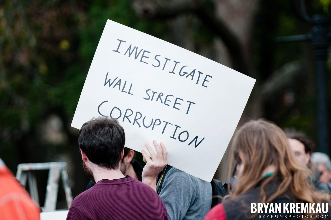 Occupy Wall Street @ Zuccotti Park and Washington Square Park, NYC - 10.15.11 (70)
