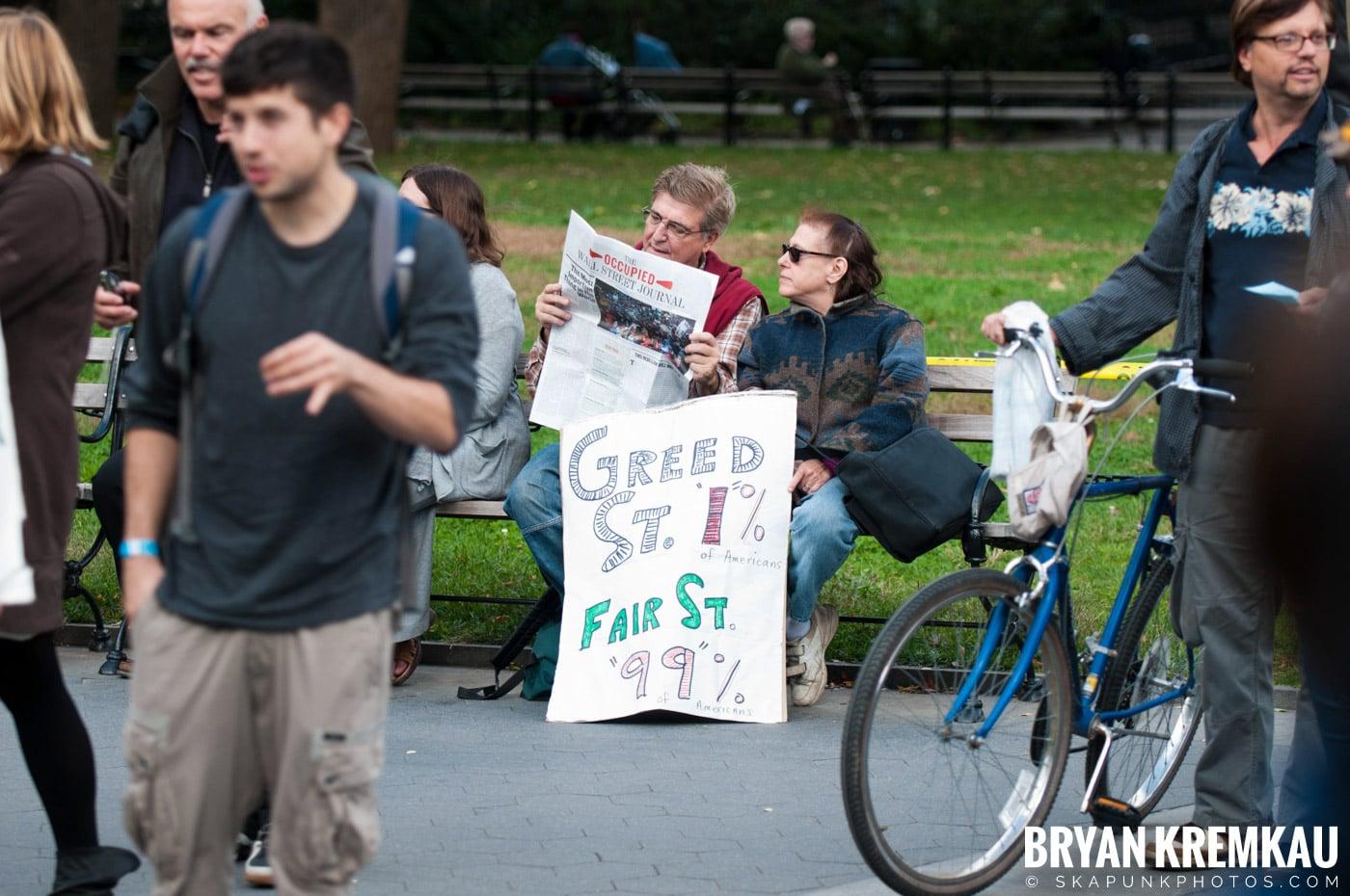 Occupy Wall Street @ Zuccotti Park and Washington Square Park, NYC - 10.15.11 (67)