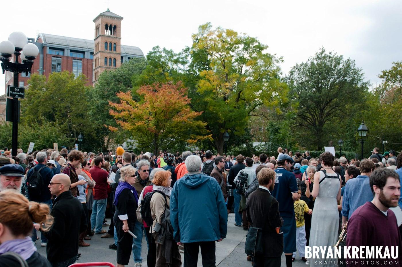 Occupy Wall Street @ Zuccotti Park and Washington Square Park, NYC - 10.15.11 (65)