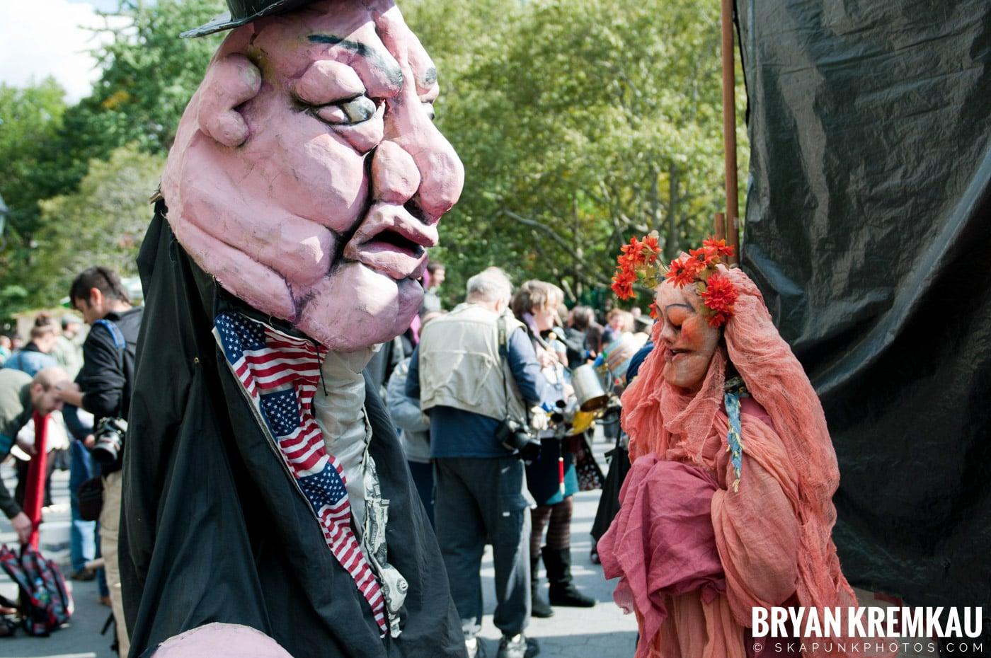 Occupy Wall Street @ Zuccotti Park and Washington Square Park, NYC - 10.15.11 (61)