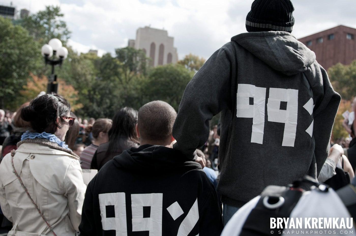 Occupy Wall Street @ Zuccotti Park and Washington Square Park, NYC - 10.15.11 (60)