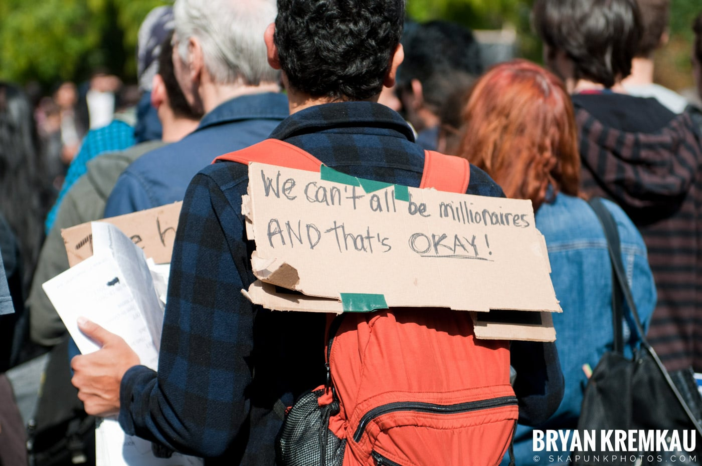 Occupy Wall Street @ Zuccotti Park and Washington Square Park, NYC - 10.15.11 (59)