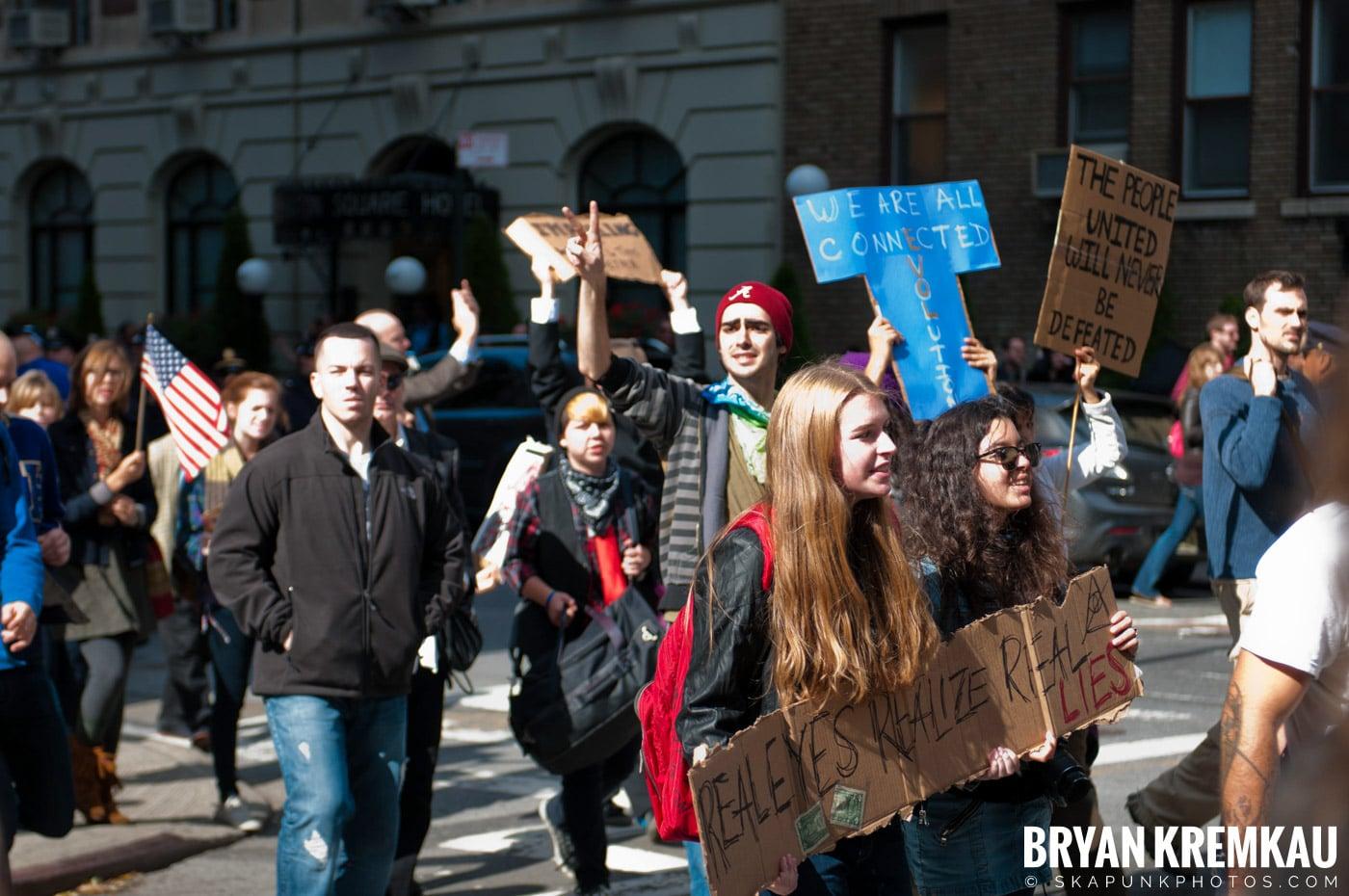 Occupy Wall Street @ Zuccotti Park and Washington Square Park, NYC - 10.15.11 (57)
