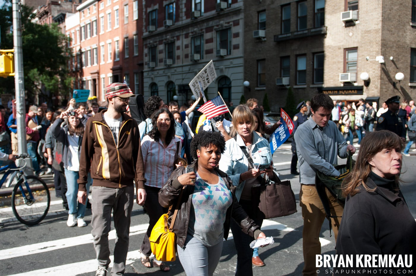 Occupy Wall Street @ Zuccotti Park and Washington Square Park, NYC - 10.15.11 (56)
