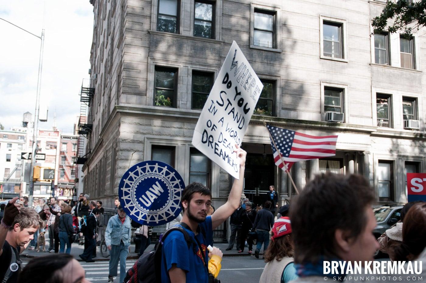 Occupy Wall Street @ Zuccotti Park and Washington Square Park, NYC - 10.15.11 (55)