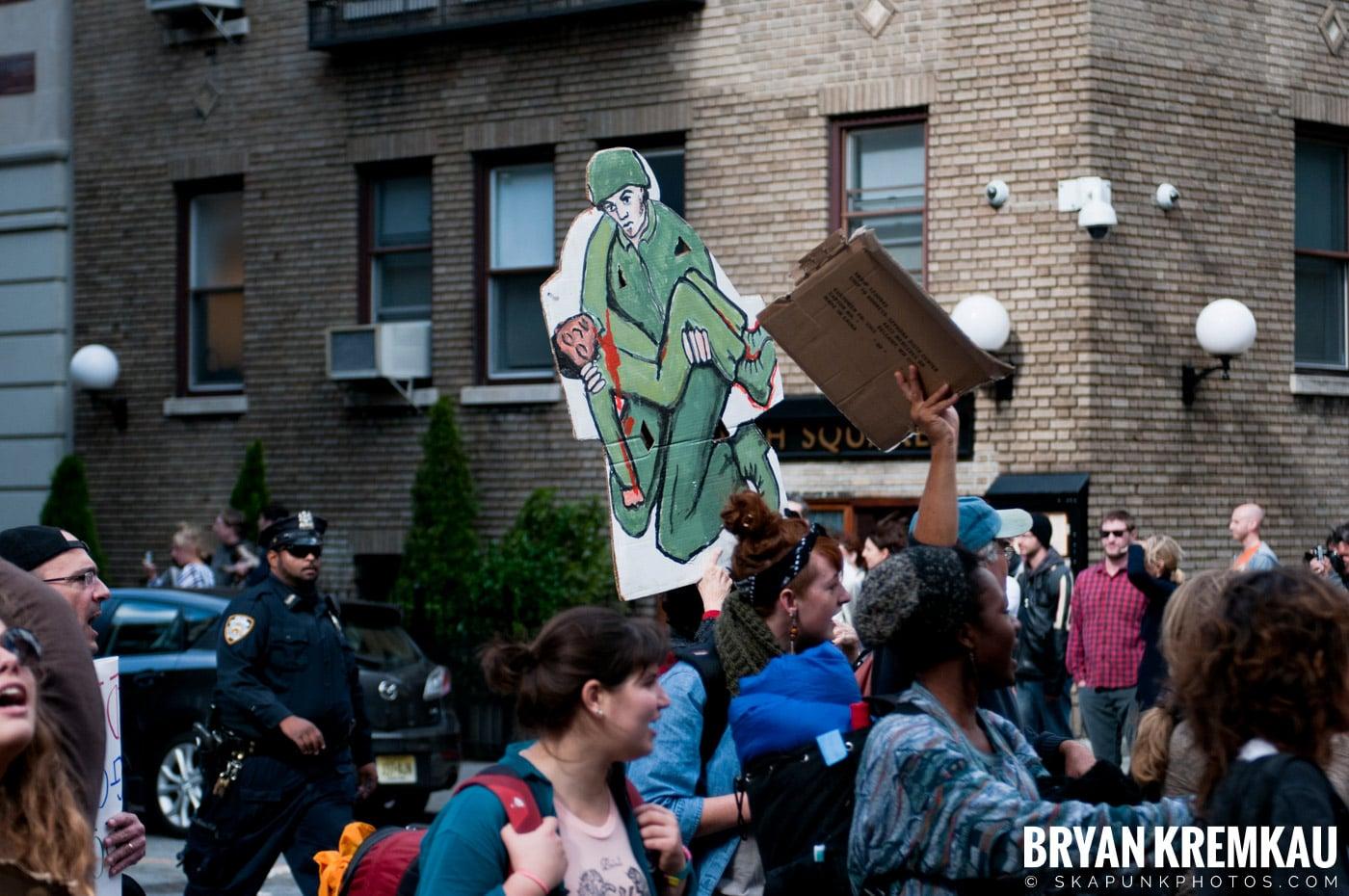 Occupy Wall Street @ Zuccotti Park and Washington Square Park, NYC - 10.15.11 (52)