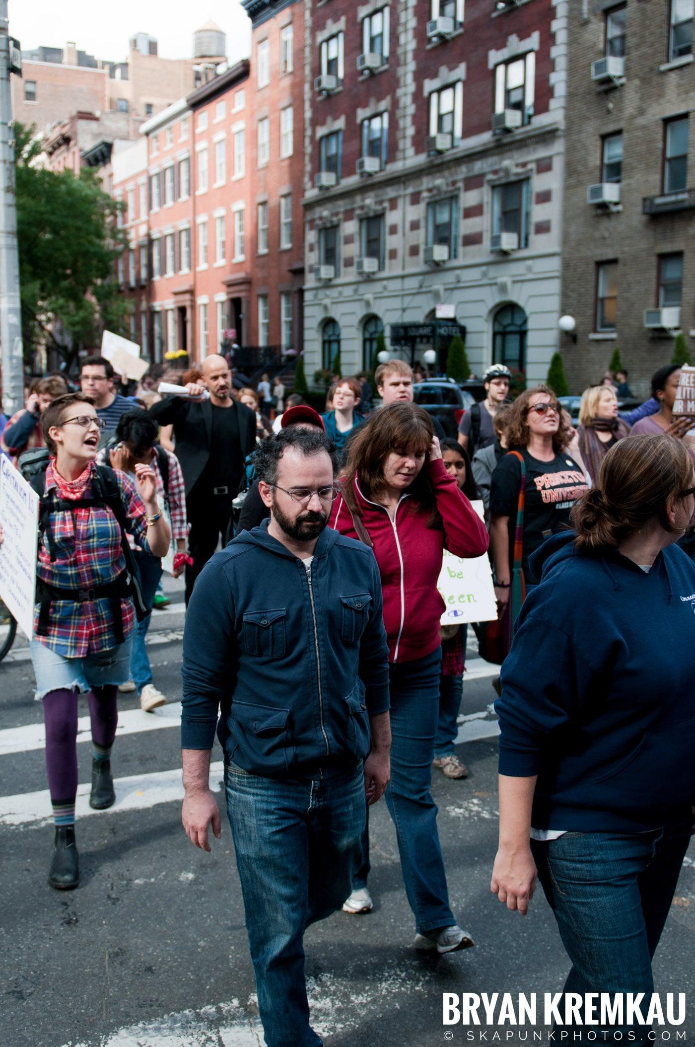 Occupy Wall Street @ Zuccotti Park and Washington Square Park, NYC - 10.15.11 (47)