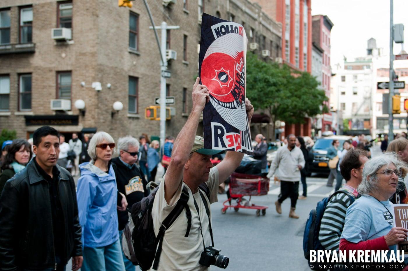 Occupy Wall Street @ Zuccotti Park and Washington Square Park, NYC - 10.15.11 (46)
