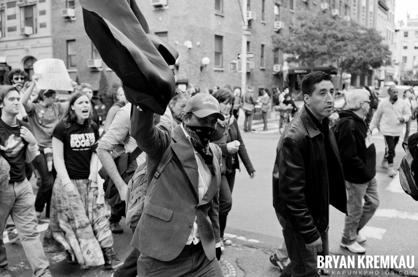 Occupy Wall Street @ Zuccotti Park and Washington Square Park, NYC - 10.15.11 (45)