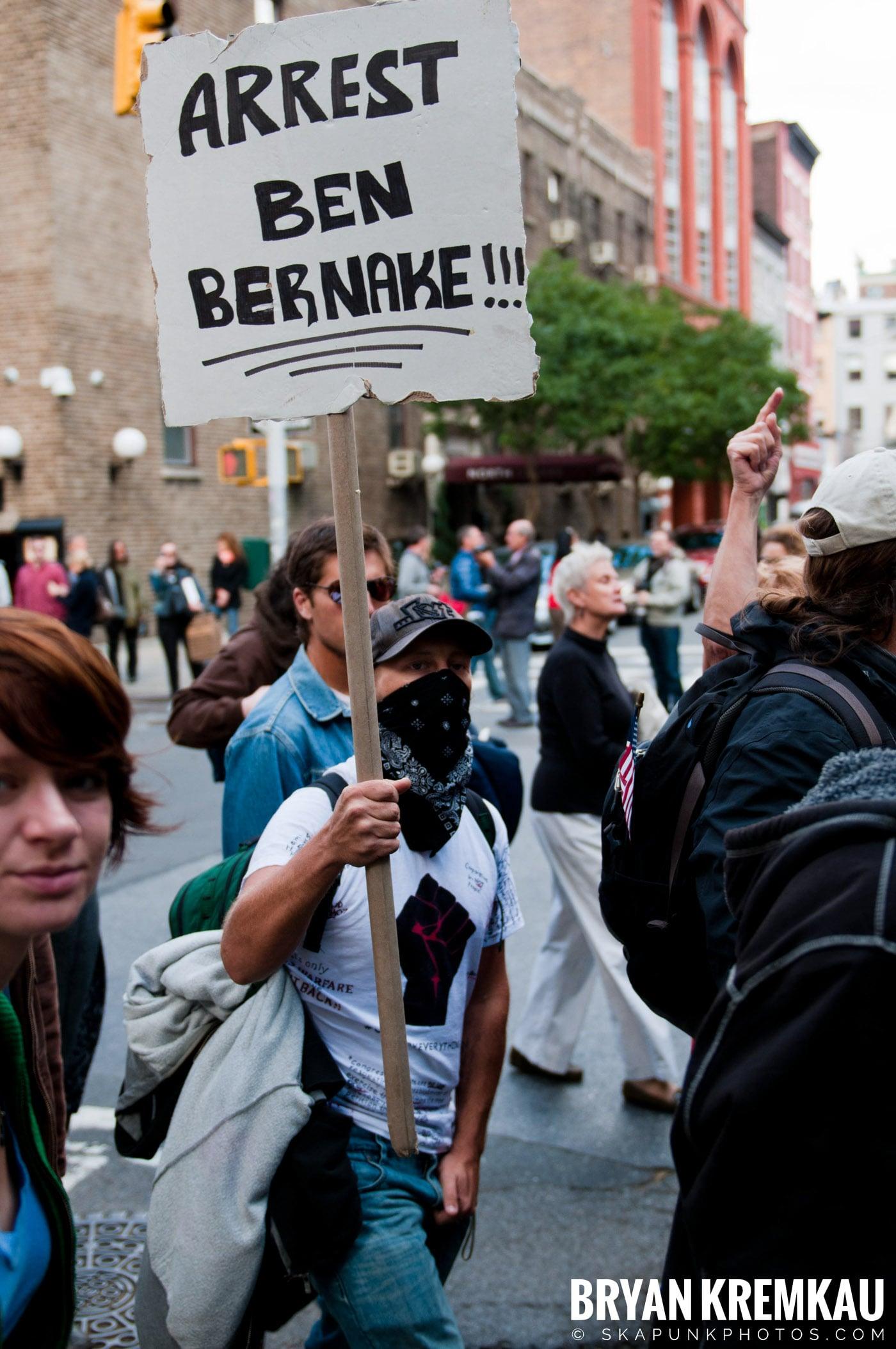Occupy Wall Street @ Zuccotti Park and Washington Square Park, NYC - 10.15.11 (44)