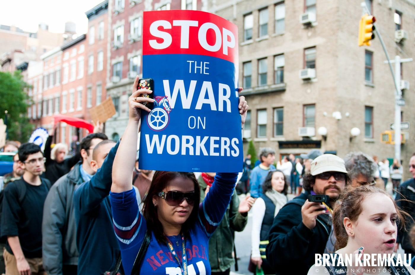 Occupy Wall Street @ Zuccotti Park and Washington Square Park, NYC - 10.15.11 (43)
