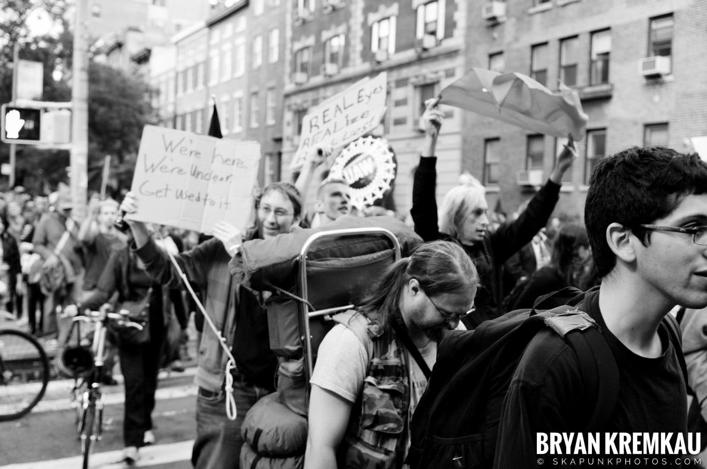 Occupy Wall Street @ Zuccotti Park and Washington Square Park, NYC - 10.15.11 (42)