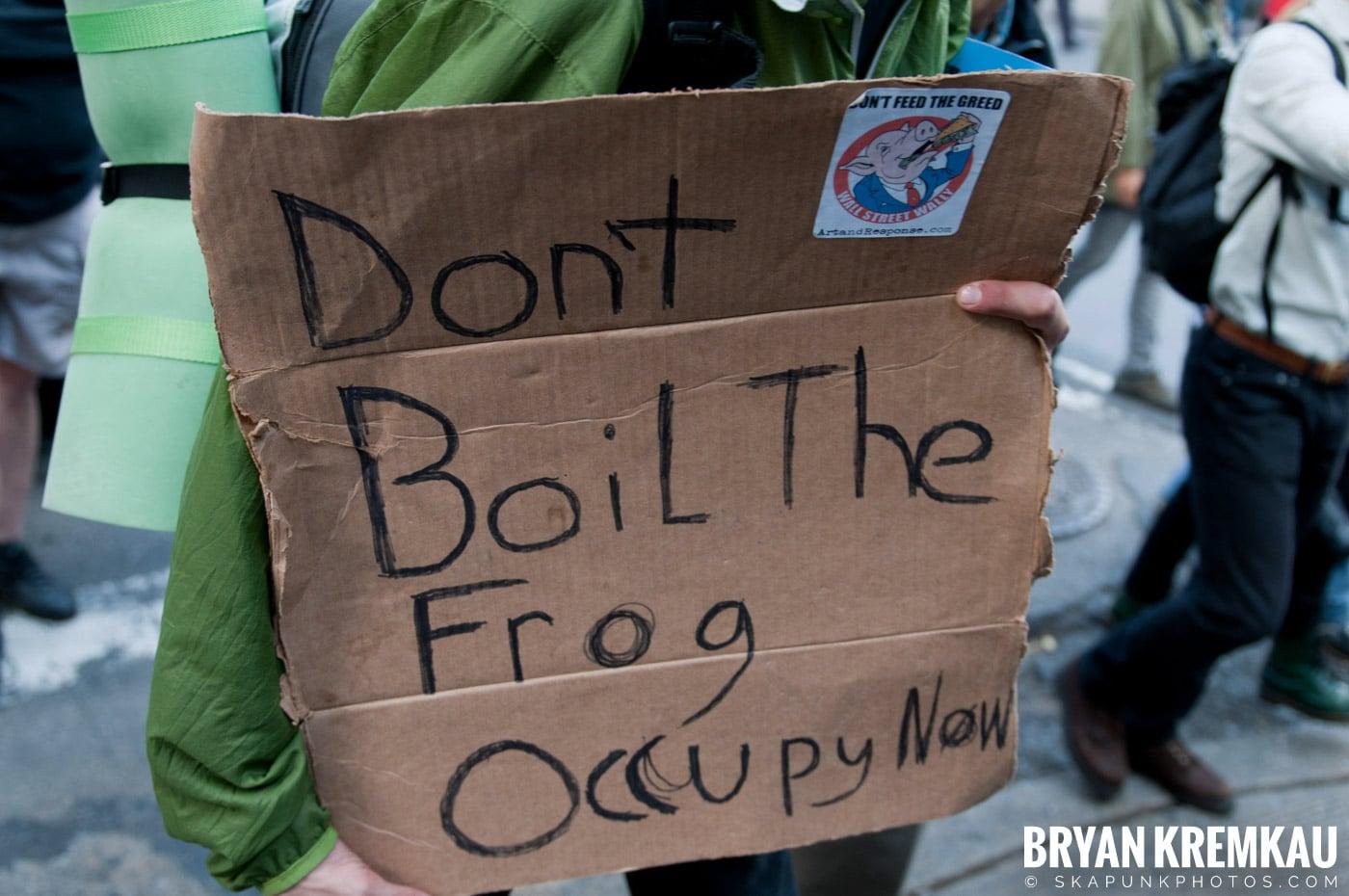 Occupy Wall Street @ Zuccotti Park and Washington Square Park, NYC - 10.15.11 (39)