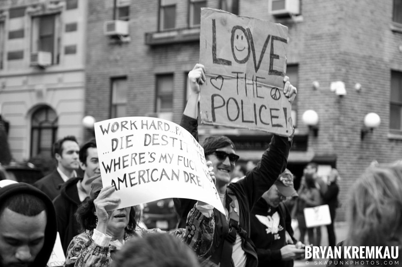 Occupy Wall Street @ Zuccotti Park and Washington Square Park, NYC - 10.15.11 (38)