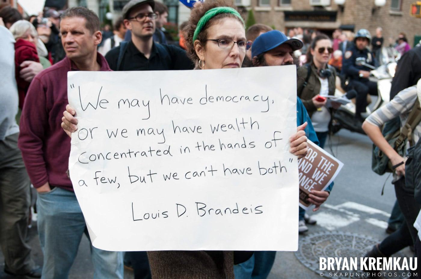 Occupy Wall Street @ Zuccotti Park and Washington Square Park, NYC - 10.15.11 (37)