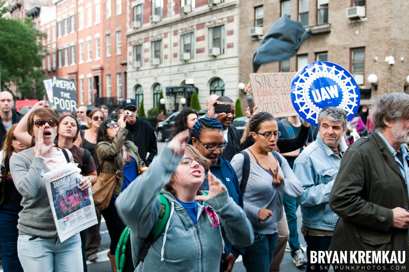Occupy Wall Street @ Zuccotti Park and Washington Square Park, NYC - 10.15.11 (35)