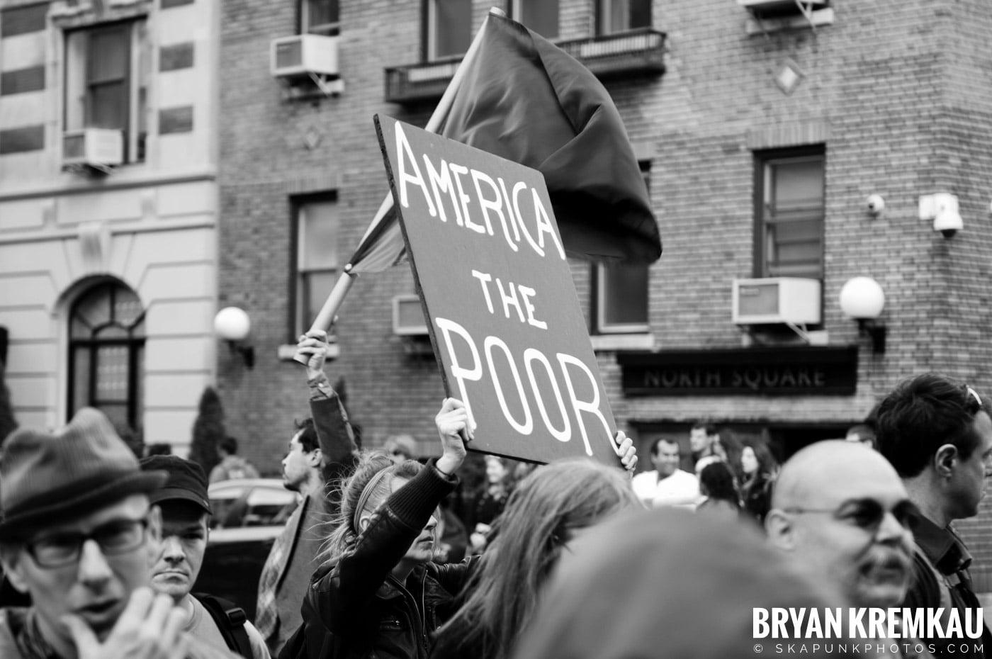 Occupy Wall Street @ Zuccotti Park and Washington Square Park, NYC - 10.15.11 (34)