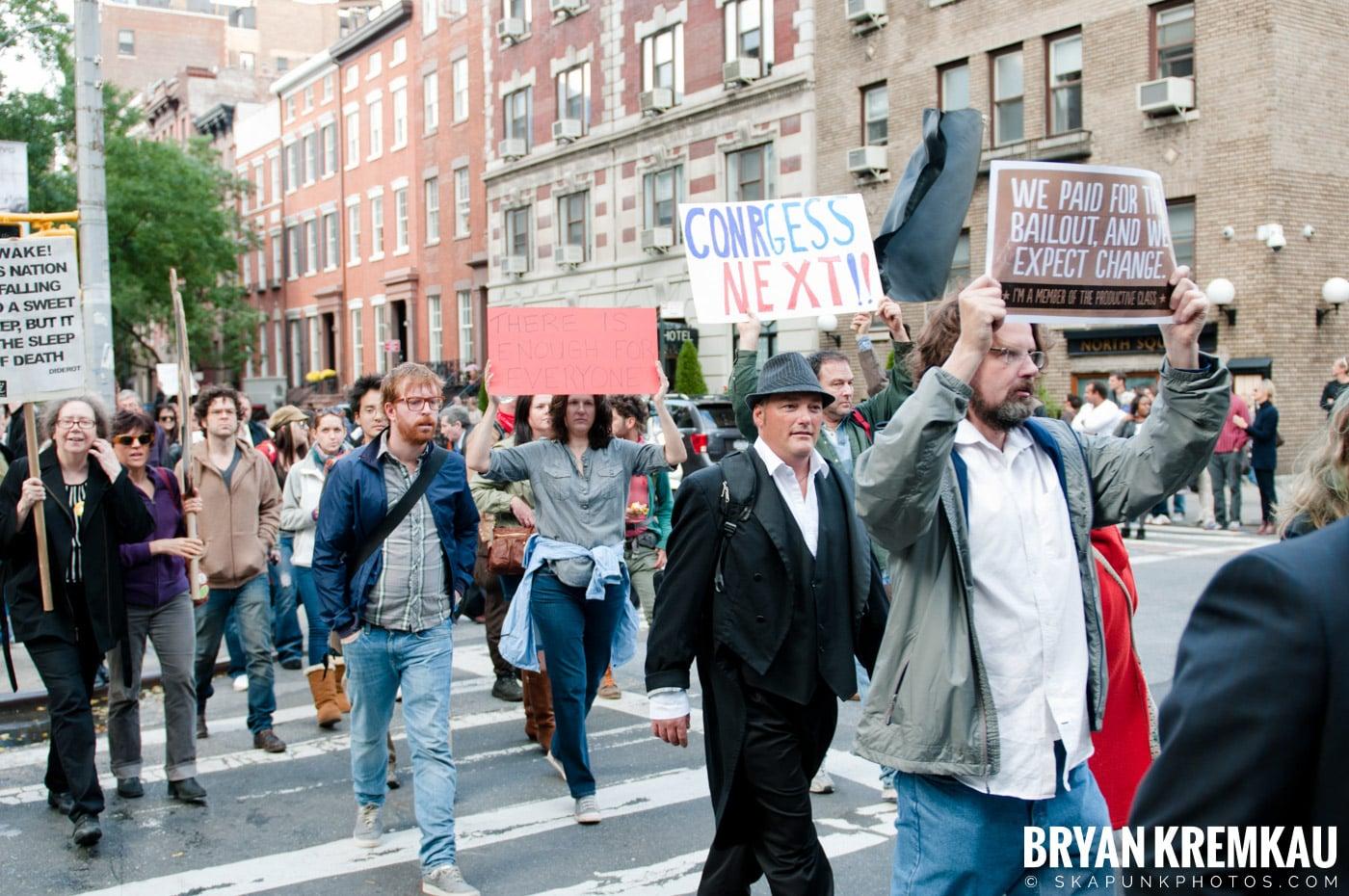 Occupy Wall Street @ Zuccotti Park and Washington Square Park, NYC - 10.15.11 (33)