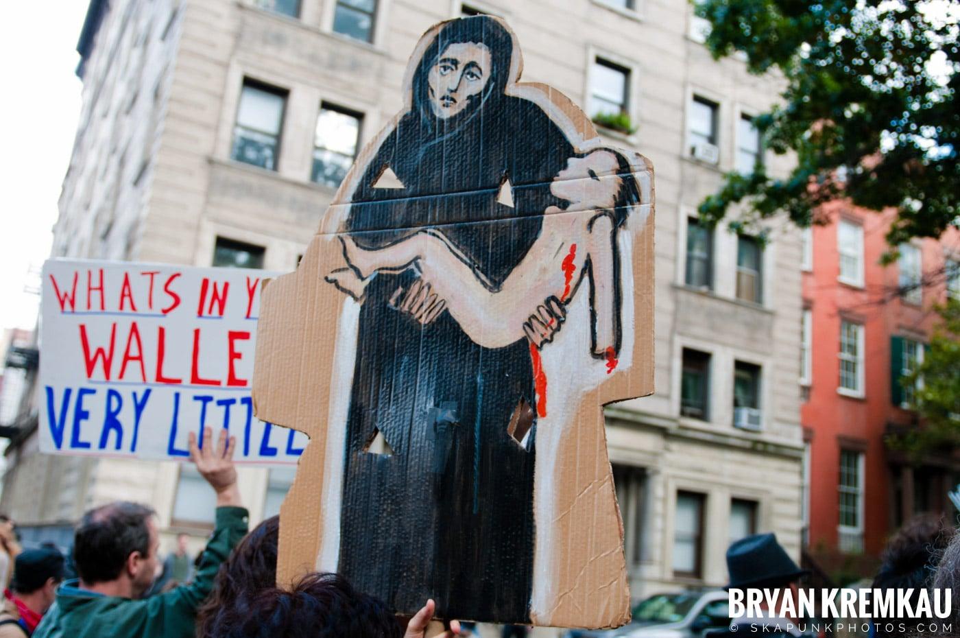 Occupy Wall Street @ Zuccotti Park and Washington Square Park, NYC - 10.15.11 (31)