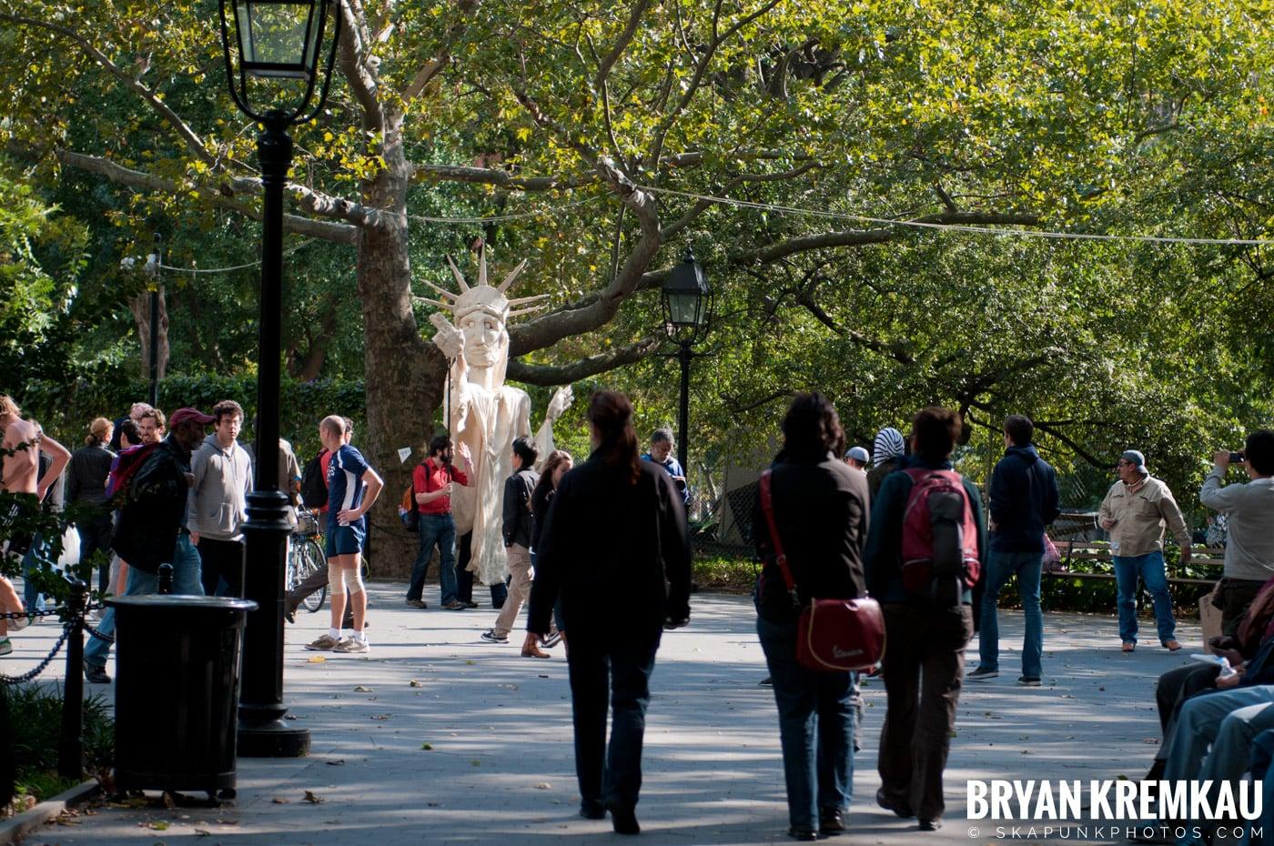 Occupy Wall Street @ Zuccotti Park and Washington Square Park, NYC - 10.15.11 (25)